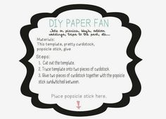 Diy: Pai pai de papel para tu boda