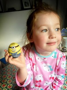Decorate a hard boiled egg homework. We love minions.
