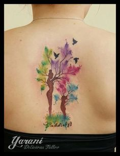 Mom & Daughter tattoo