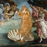 """I dipinti più famosi dell'arte """"gatta"""": così parlò Zarathustra. Il gatto!"""