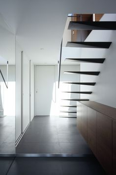 Floating Staircase, what?! Too Cool!!