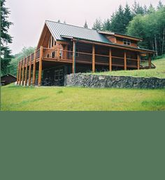 Almanor II Log Home Model | Preassembled Log Homes and Cabins by Homestead Log Homes, Manufacturer and builder of preassembled log homes and supplies