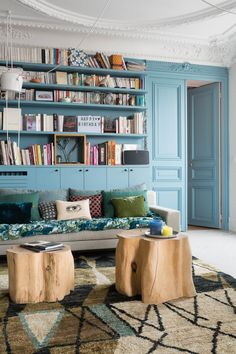Furniture - Home Decor Heart Apartment Furniture, Apartment Living, Small Furniture, Furniture Design, Colourful Lounge, Bibliotheque Design, Buying A New Home, Victorian Furniture, Furniture Inspiration