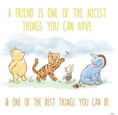 Best friends + Winnie the Pooh.
