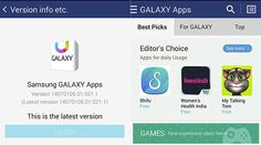 Samsung Apps Gets Updated to Samsung Galaxy Apps