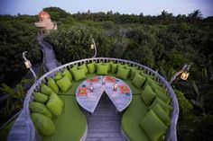 $ 448/Night #Soneva Fushi offers private #oceanfront #villas. Kunfunadhoo Island,  in #Baa #Atoll, #Maldives http://VIPsAccess.com/luxury-hotels-maldives.html