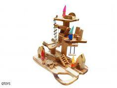 gnomes house play set wood