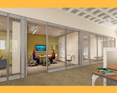 Study Spaces at URI's Library Learning Commons