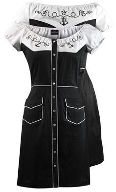 Retro Western 'Stompin' Dress