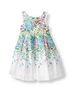 Spring dress for girls #JanieandJack #SpringDress