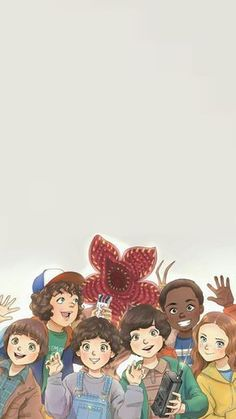 Plano de fundo de Stranger Things...PERFECT❤