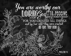 This chalkboard typography piece brings texture and dimension to the scripture art. Our scripture art is printed by a professional photo lab