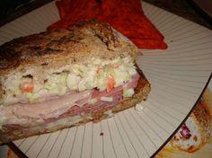 Food and recipes: Reuben loaf sandwich