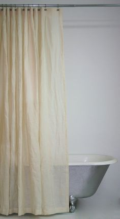 Alternatives to Vinyl Shower Curtain Liners (and a Water-Repelling Tip)