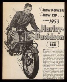 1953 Harley-Davidson 165