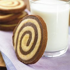 Best Cookies Recipes: Chocolate-Orange Swirls Cookies Recipes - Best-Loved Cookie Recipes and Bar Recipes - Southern Living
