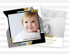 Modern Christmas Card  Photo Christmas Card  by paperheartprints #christmas #christmascard #modern #gold #sparkle #etsy #photocard #card #holiday #holidaycard #holidaysparkle