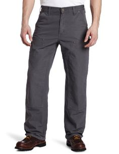 Carhartt Men's Double Front Washed Duck Work Dungaree Pant B136 - http://guntshirts.us/carhartt-mens-double-front-washed-duck-work-dungaree-pant-b136/