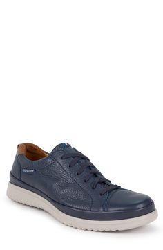 Mephisto Thomas Sneaker In Navy Leather Men's Shoes, Shoes Sneakers, Mephisto, Mode Masculine, Casual Loafers, Clarks, White Leather, Men Dress, Nordstrom