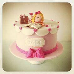 No:3 #cake #birthday - @mutludukkan- #webstagram Little Girl Cakes, Little Girls, 21st Cake, Cake Decorations, Fondant Cakes, Beautiful Cakes, Yummy Treats, Cupcakes, Kids