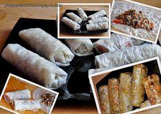 Sajgonki :) - Każdy ma jakiegoś bzika - Pieguskowa kuchnia Cheese, Food, Essen, Meals, Yemek, Eten