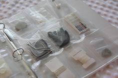 przechowywanie zapasowych guzików itp od ubrań
