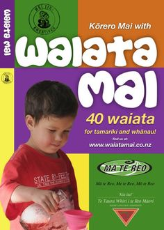 40 Waiata (free) teaching basic sentence structure. Aimed towards preschool/Junior school but could be used further up.