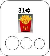McDonalds Money Counting Cards- you may need to go to the website to find these cards and other money cards - makinglearningfun.com