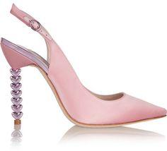 Sophia Webster - Tyra Satin Pumps - Pastel pink