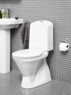 Gustavsberg Wc Istuin Nordic3 3500 Kaksoishuuhtelu 3 6l S Lukko Vakiokansi Bathroom Toilet Bauhaus