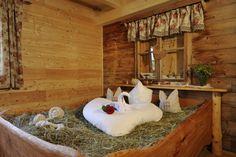 Tierischer Urlaub mit Hund & Pferd in der Nationalparkregion Hohe Tauern in Kärnten - Heubett (c) Landgut Moserhof