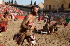 Inside the Violent Italian Sport That Inspired Modern Football