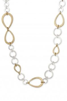 Stella & Dot Tricia Link Necklace is simple and perfect!!! www.shopstellaanddot.com