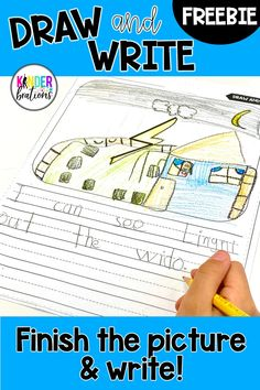 """Your writers will love using their creativity to """"finish the picture"""" and write! This is a FREE sample of writing and """"finish the picture"""" pages with random """"doodles"""" that act as a starting point for creating pictures and writing. Perfect for literacy centers, writing centers, homework, choice time, for early finishers, and/or morning work."""