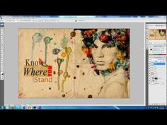▶ Photoshop Watercolour Effect Tutorial | by Sharif - YouTube