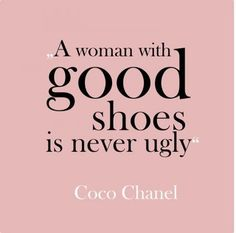 Lol! We do love our shoes!