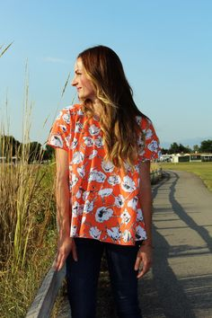 Anthropologie-Inspired Top Pattern + Tutorial | Sew Mama Sew