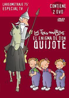 LAS TRES MELLIZAS: EL ENIGMA DE DON QUIJOTE- Roser Capdevila