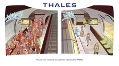 Reduce train headway and optimise capacity with Thales