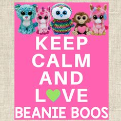 KEEP CALM - Instant Download - Beanie Boo Party