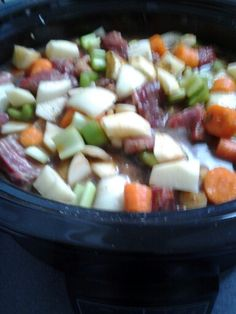 Beef stew prep for crockpot