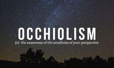 Occhiolism