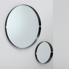 38aff300d3d0 Press Mirror Satin Black Loft Style, Industrial Loft, Stables, Entrance,  Lounge,