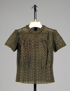 Blouse, Elsa Schiaparelli, ca. 1936, cotton, French. The Metropolitan Museum of Art  2009.300.3954