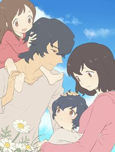 Ookami Kodomo no Ame to Yuki (This movie was pretty cute...up until the end)