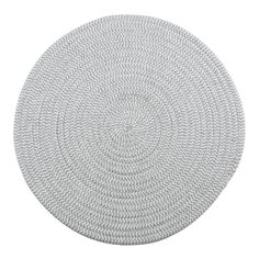 Complete your place setting with this stylish round placemat from Food Network. Solid design Polyester, olefin, cotton, rayon Spot clean Imported diameter Size: Fits All. Grey Placemats, Harvest Kitchen, Dining Decor, High Fashion Home, Off Colour, Place Settings, Food Network Recipes, Jute, House Warming