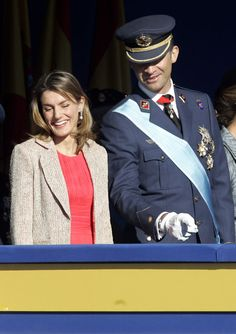 October 12, 2006 - Spanish National Day, pregnant with Sofia