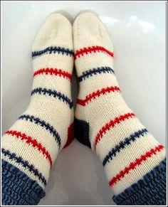 aus Sockenwollresten