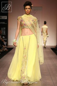 Bhairavi Jaikishan at Lakme Fashion Week 2013