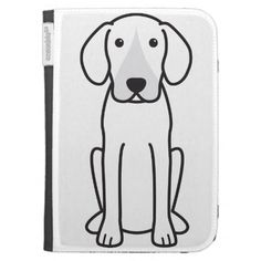 Harrier Dog Cartoon Cases For The Kindle